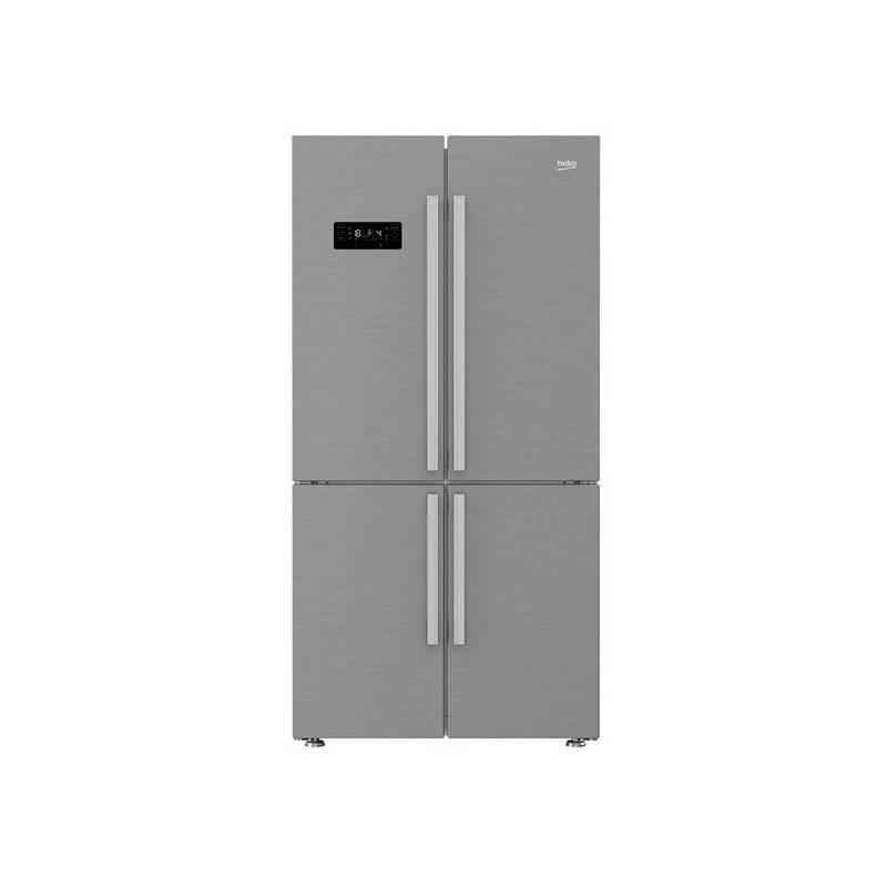 Kombinácia chladničky s mrazničkou Beko GN 1416221 JX nerez + Doprava zadarmo
