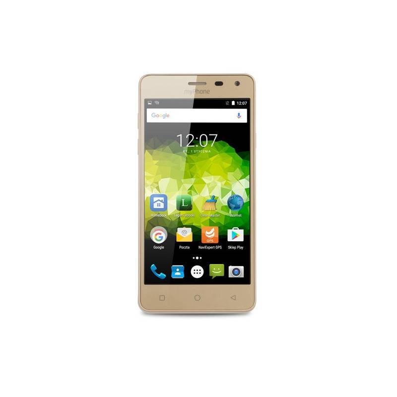 Mobilný telefón myPhone PRIME PLUS (TELMYAPRIMEPGO) zlatý Software F-Secure SAFE, 3 zařízení / 6 měsíců (zdarma)