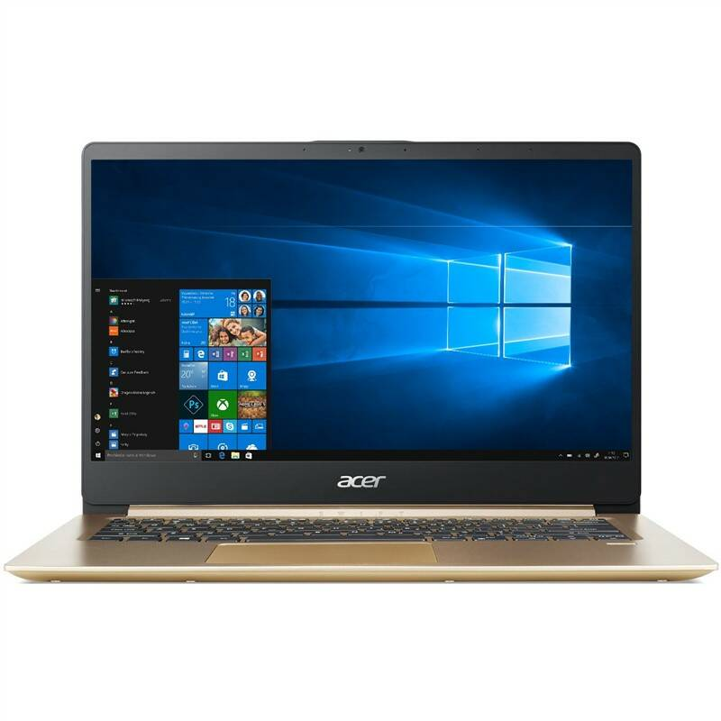 Notebook Acer Swift 1 (SF114-32-P7WR) zlatý + MS Office 365 pre jednotlivcov (NX.GXQEC.002)
