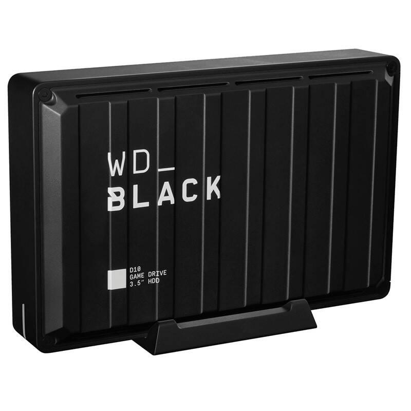 "Externý pevný disk 3,5"" Western Digital Black D10 Game Drive 8TB (WDBA3P0080HBK-EESN) čierny"