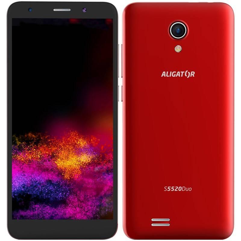 Mobilný telefón Aligator S5520 (AS5520RD) červený