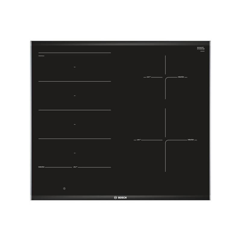 Indukční varná deska Bosch PXE675DC1E černá