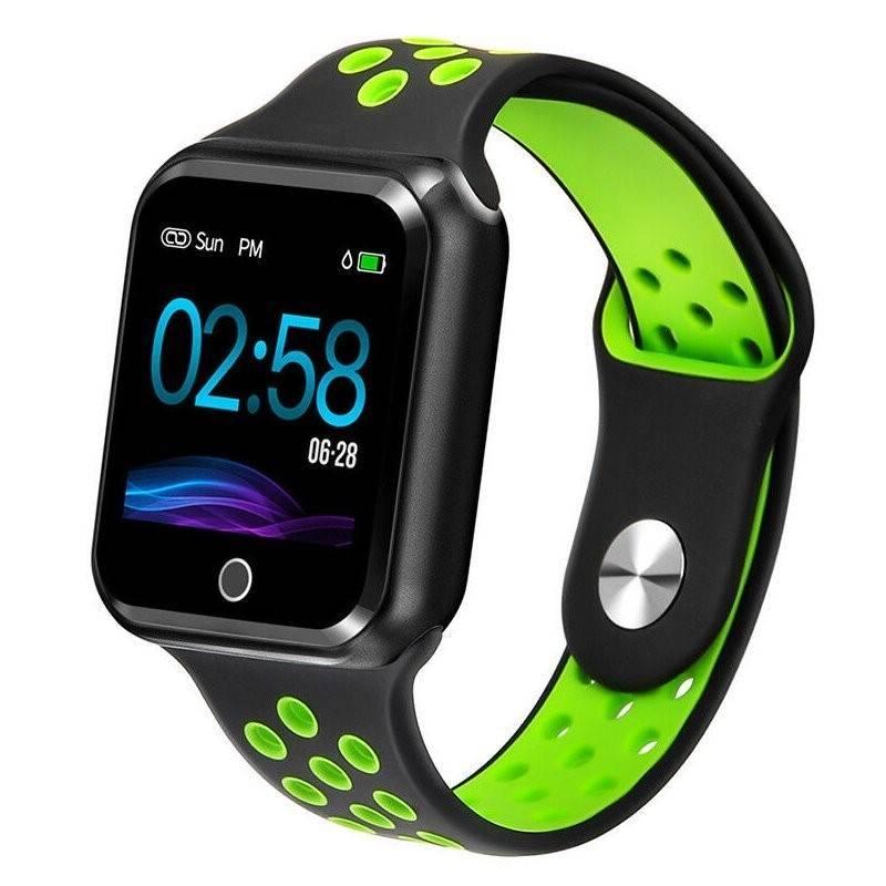 Chytré hodinky IMMAX SW10 (09014) černé/zelené