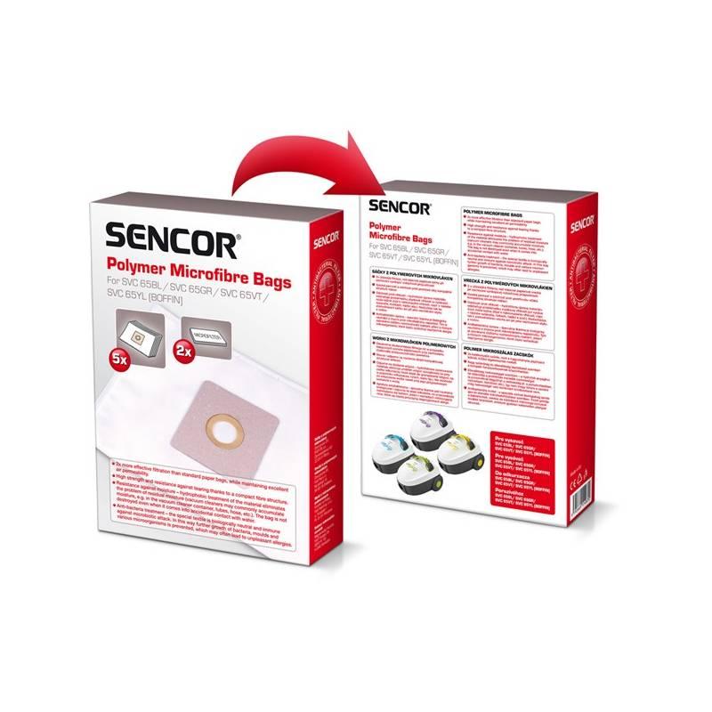 Sáčky do vysavače Sencor SVC 65BL/GR/VT/YL
