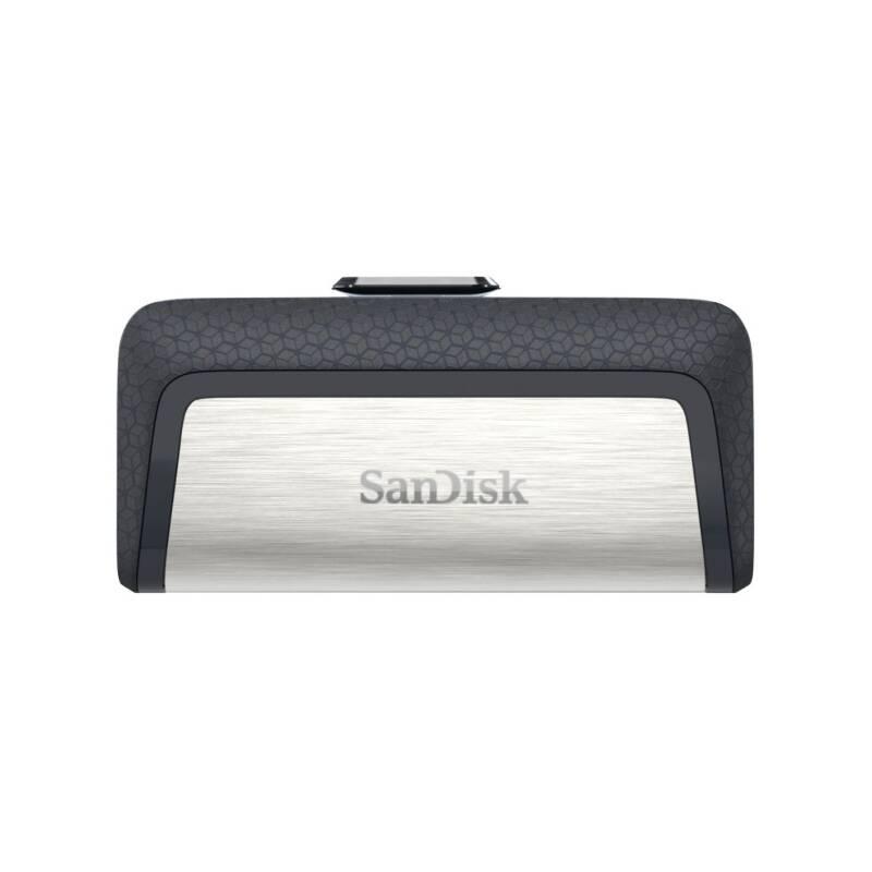 USB flash disk Sandisk Ultra Dual 32GB OTG USB-C/USB 3.1 (SDDDC2-032G-G46) čierny/strieborný