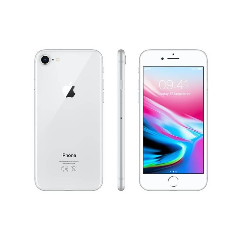 telefon kom rkowy apple iphone 8 256 gb silver mq7d2cn a. Black Bedroom Furniture Sets. Home Design Ideas