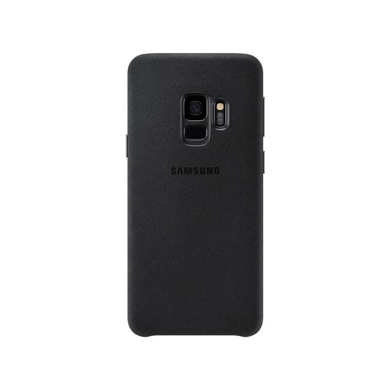 Kryt na mobil Samsung Alcantara pro Galaxy S9 (EF-XG960A) (EF-XG960ABEGWW) čierny