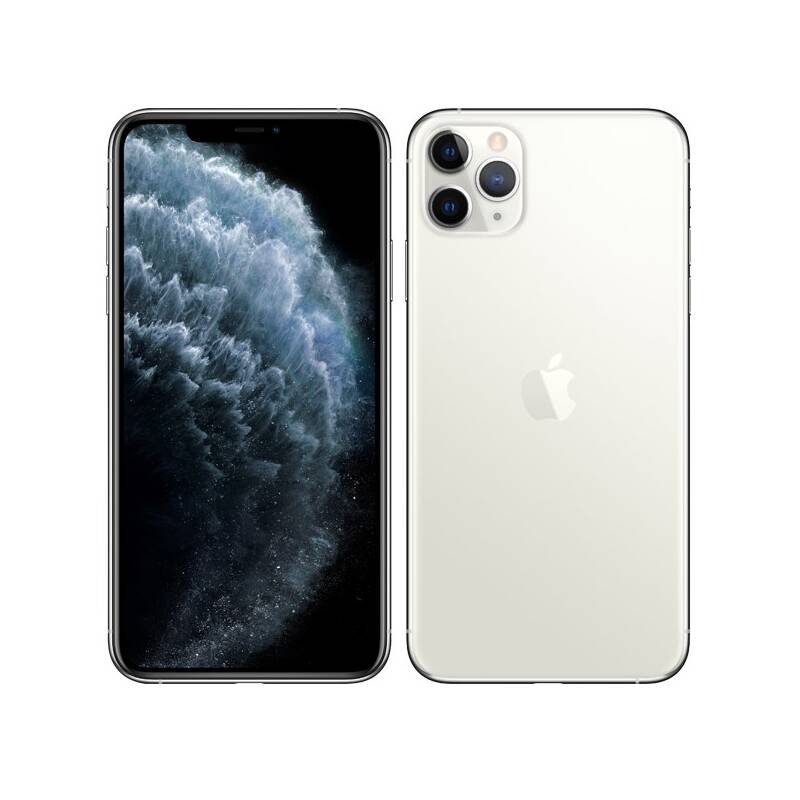 Mobilní telefon Apple iPhone 11 Pro Max 256 GB - Silver (MWHK2CN/A)