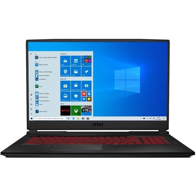 Notebook MSI GL75 9SE (GL75 9SE-084CZ) čierny