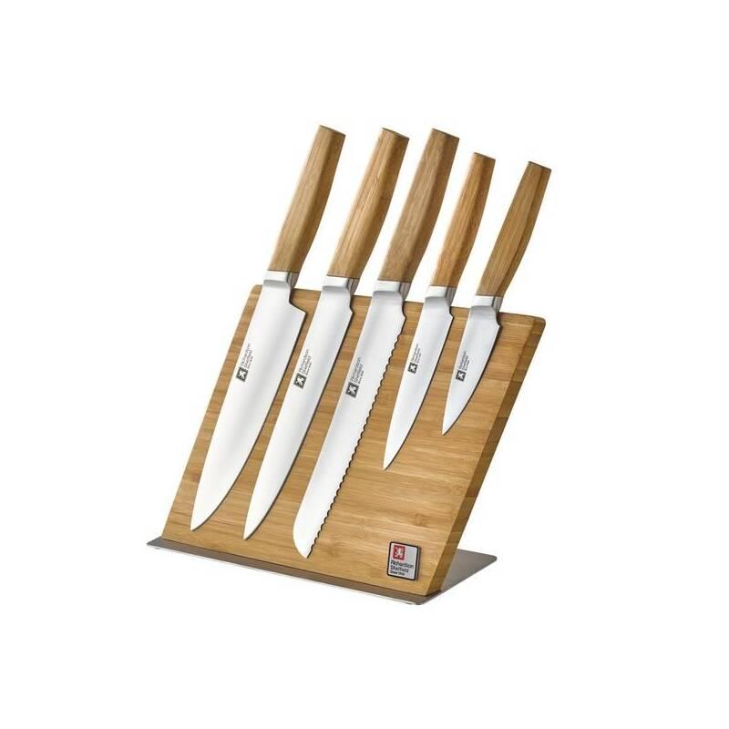 Sada kuchynských nožov Richardson Sheffield 5 ks + blok + lišta + Doprava zadarmo