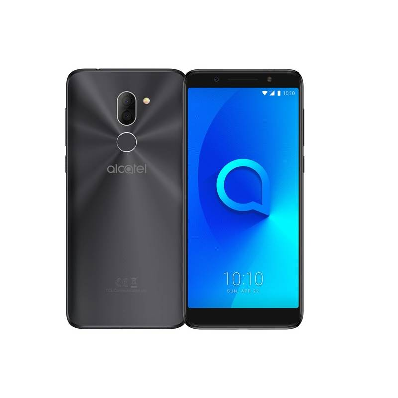 Mobilný telefón ALCATEL 3X 5058I Dual SIM (5058I-2AALE11) čierny