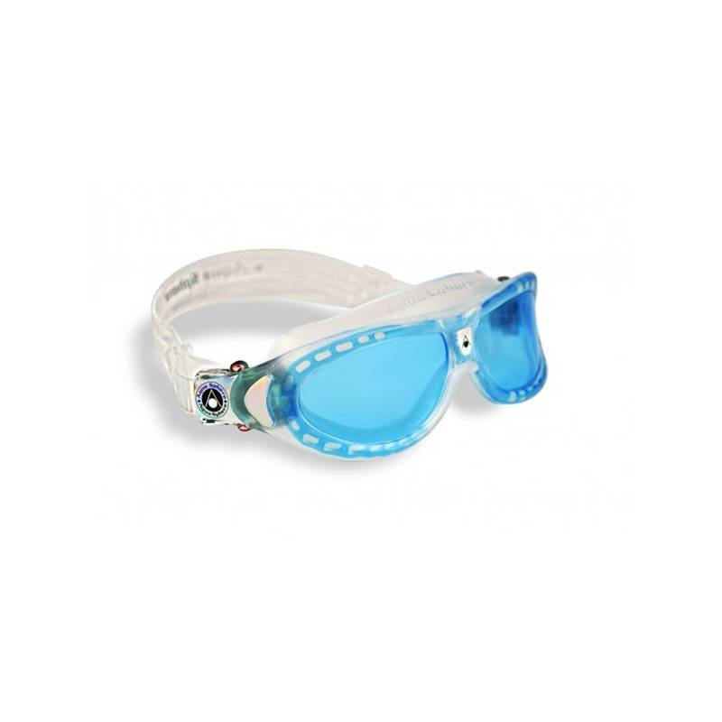 Okuliare plavecké detské Aqua Sphere Seal Kid blue lens modré/priehľadné