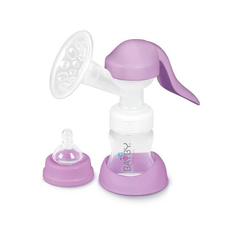 Odsávačka materského mlieka BAYBY BBP 1000 manuálna fialová