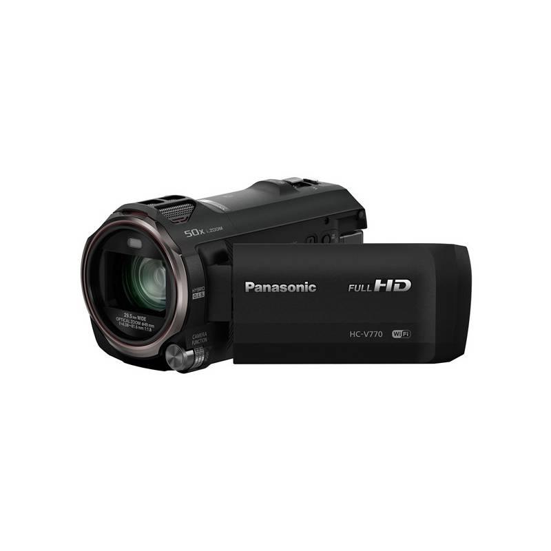 Videokamera Panasonic HC-V770EP-K čierna + Doprava zadarmo