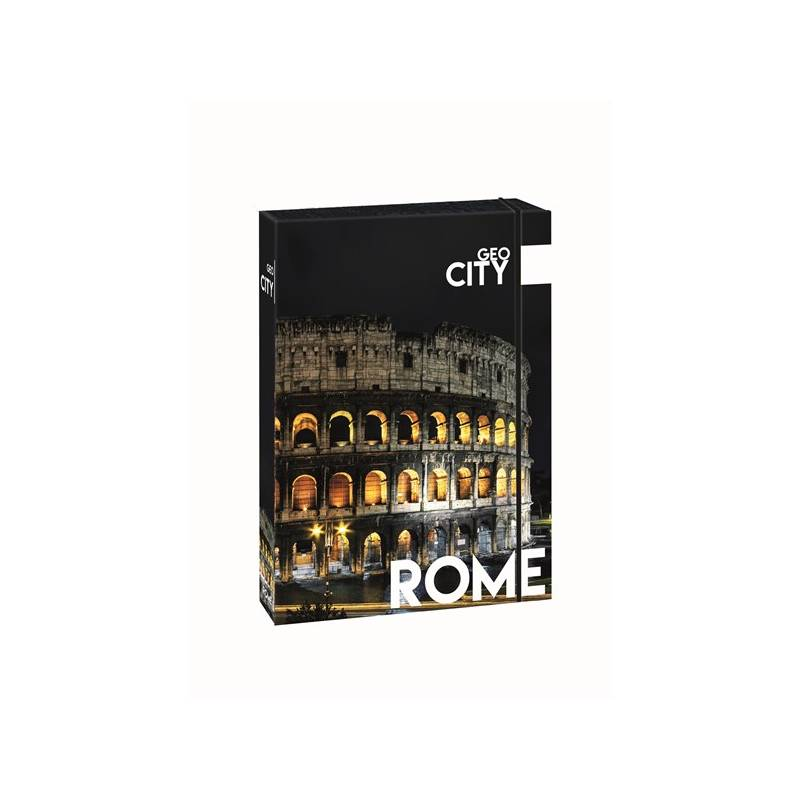 Dosky na zošity P + P Karton GEO CITY Rome A4 Jumbo