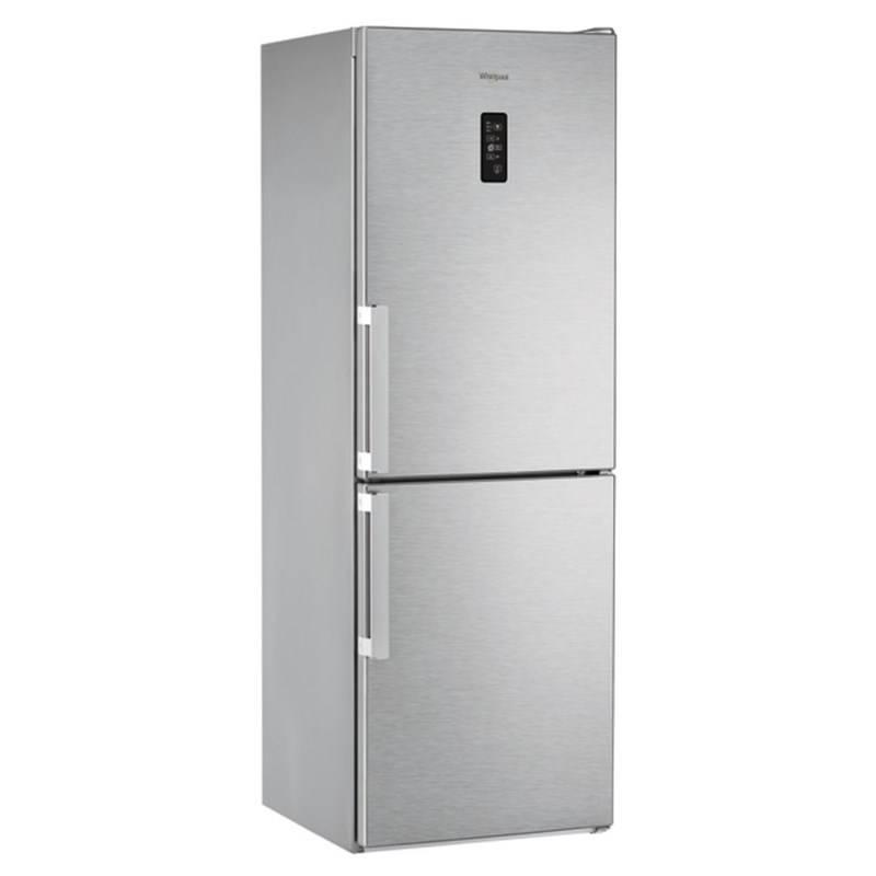 Kombinácia chladničky s mrazničkou Whirlpool WDNF 82D IX H nerez + Doprava zadarmo