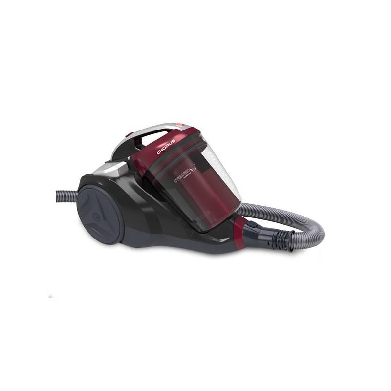 Podlahový vysávač Hoover Chorus CH50PET 011 čierny/červený + Doprava zadarmo