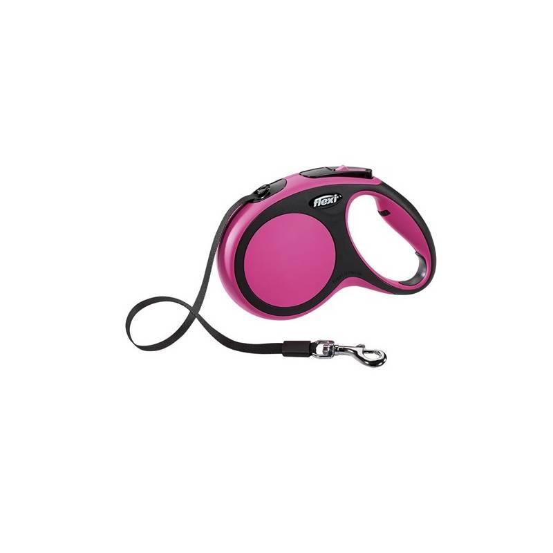 Vodítko Flexi Comfort M Pásek 5m/25kg ružové