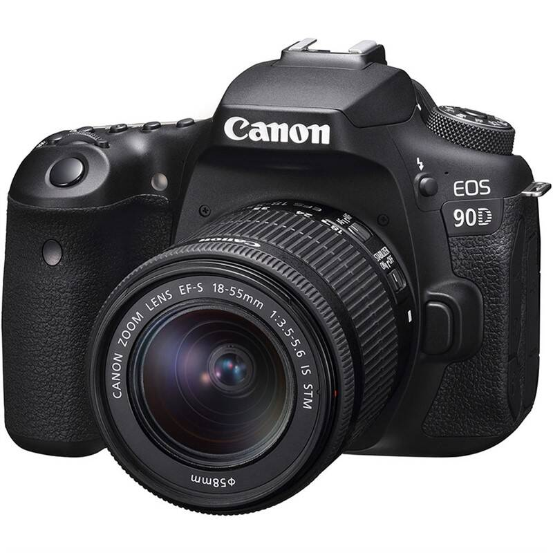 Digitálny fotoaparát Canon EOS 90D + 18-55 IS STM čierny + Doprava zadarmo