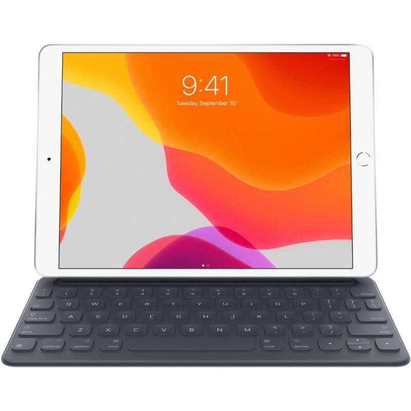 Púzdro s klávesnicou na tablet Apple Smart Keyboard iPad (7. generace) a iPad Air (3. generace) – CZ (MX3L2CZ/A)