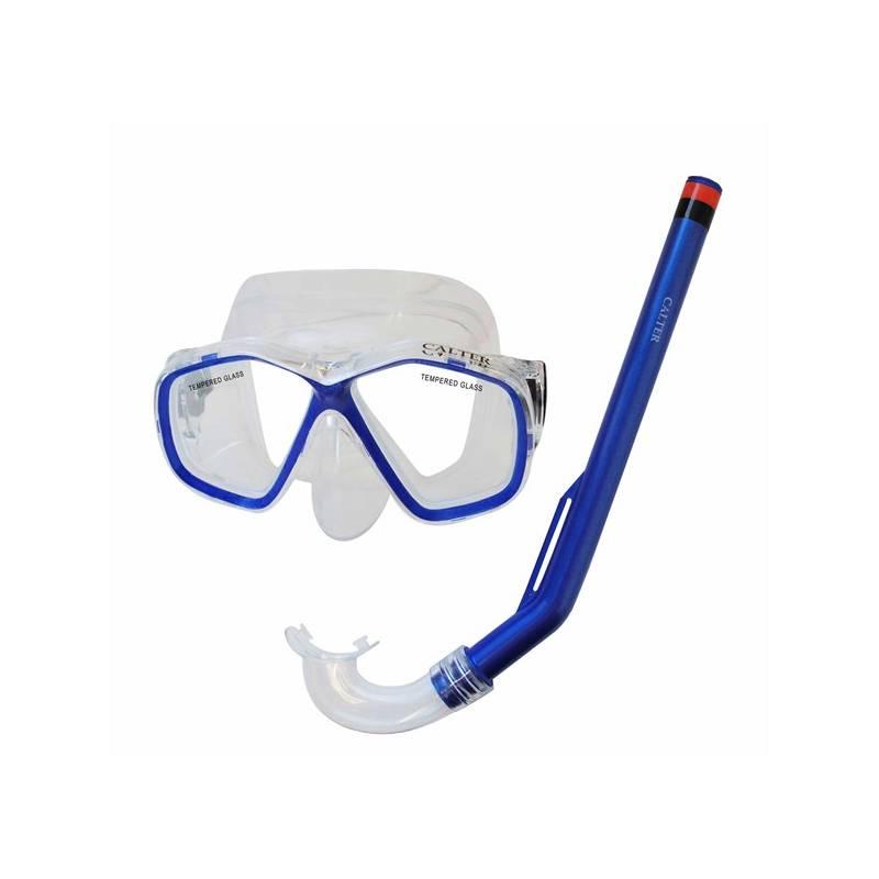 Sada na potápanie Calter Kids S06+M278 PVC modrý