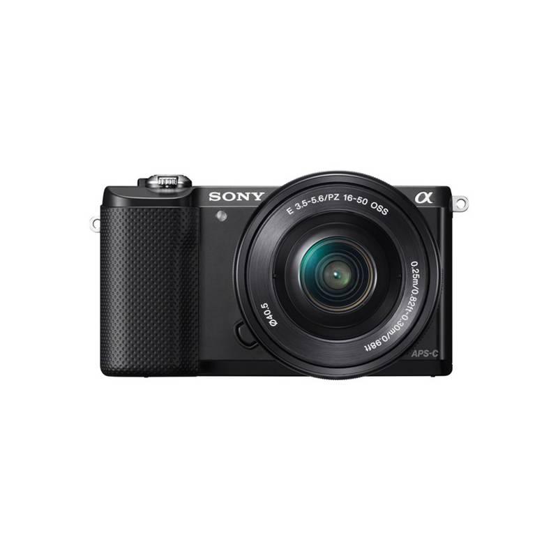 Digitálny fotoaparát Sony Alpha A5000 + 16-50mm čierny + Doprava zadarmo