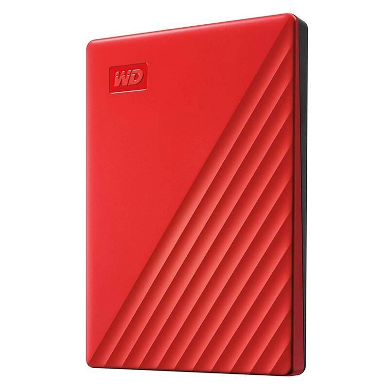 Externý pevný disk Western Digital My Passport Portable 2TB, USB 3.0 (WDBYVG0020BRD-WESN) červený + Doprava zadarmo