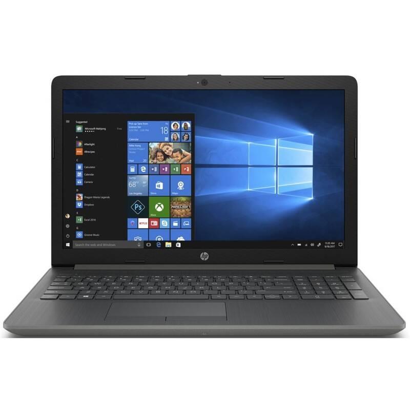 Notebook HP 15-db1602nc (8NE80EA#BCM) šedý