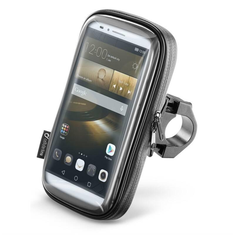 """Držiak na mobil Interphone na telefony do velikosti 6,5"""", úchyt na řídítka (SMSMART65) čierny"""