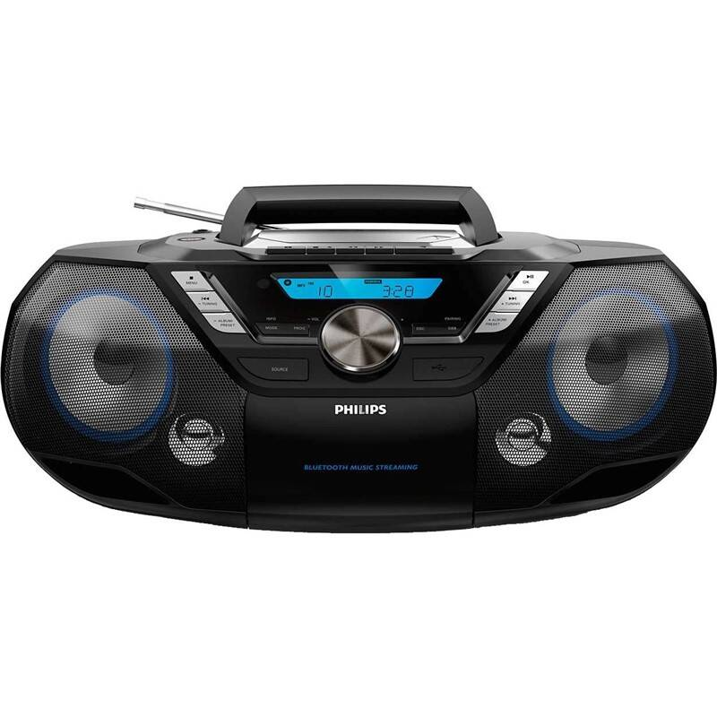 Rádioprijímač s CD Philips AZB798T čierny