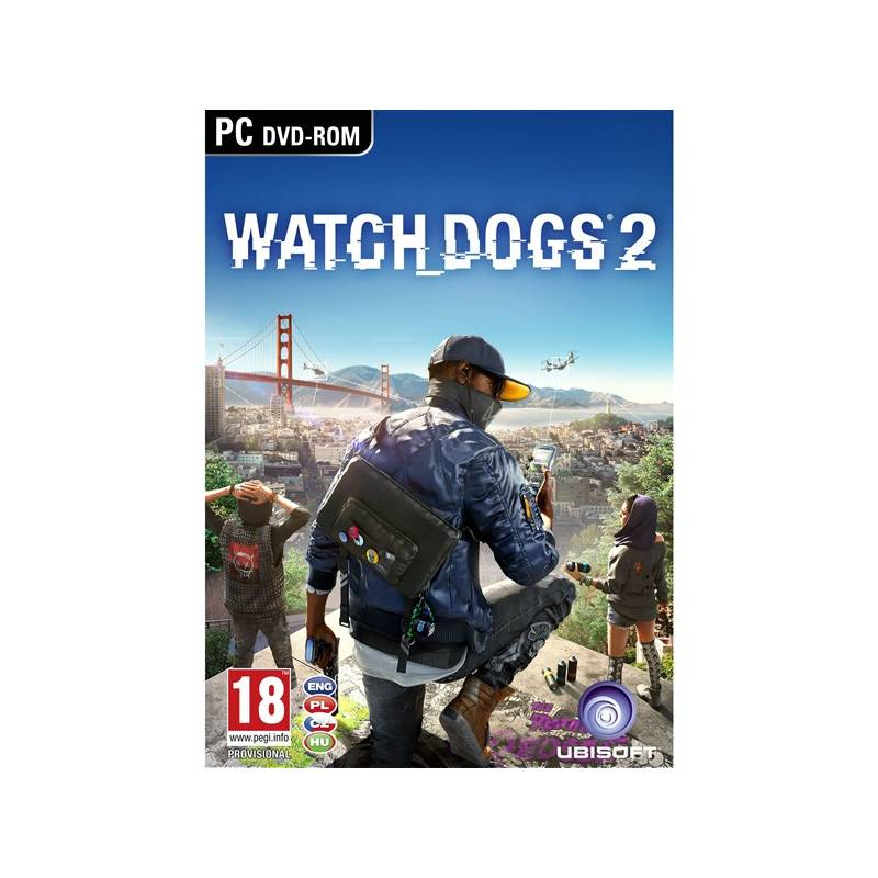 Hra Ubisoft PC Watch Dogs 2 (USPC07813)