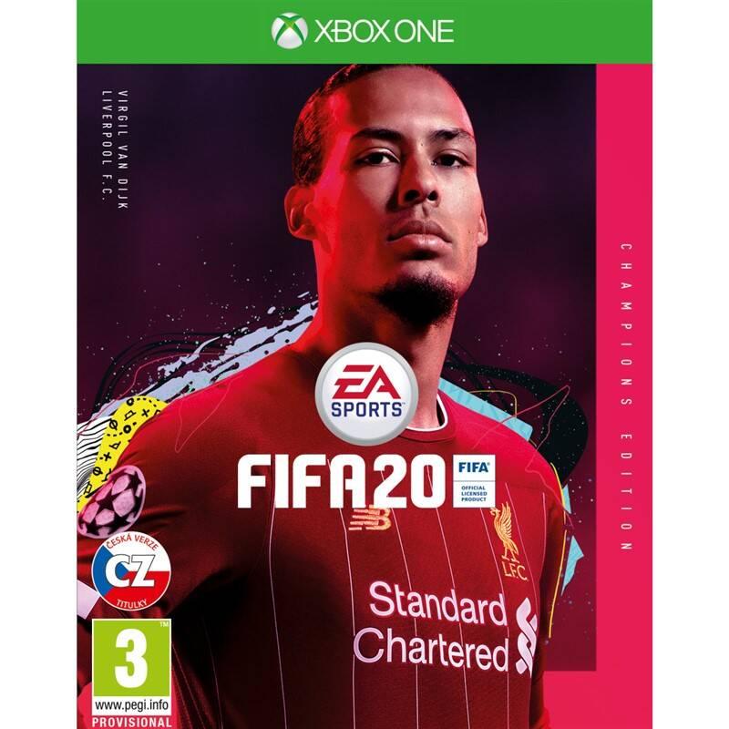 Hra EA Xbox One FIFA 20 Champions Edition (EAX320618) + Doprava zadarmo