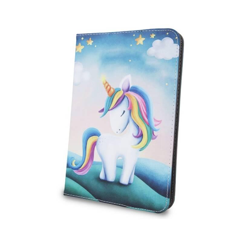 """Púzdro na tablet flipové GreenGo Unicorn na tablet 9-10"""" (GSM041326)"""
