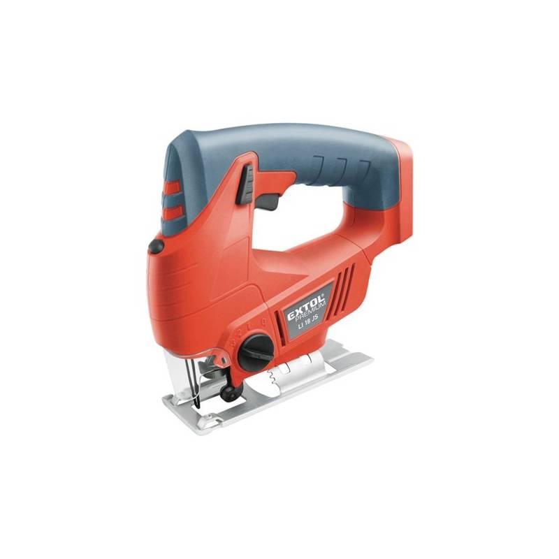 Priamočiara píla EXTOL Premium LI 18 JS, aku (bez baterie) Sada ochranných pomůcek Bosch (zdarma)