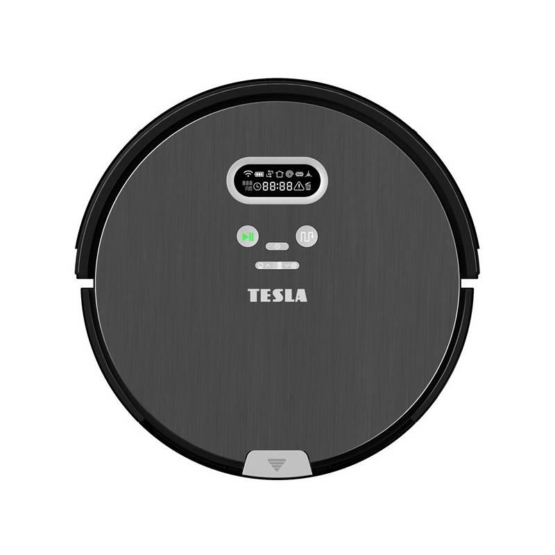 Vysávač robotický Tesla RoboStar T80 Pro čierny + Doprava zadarmo