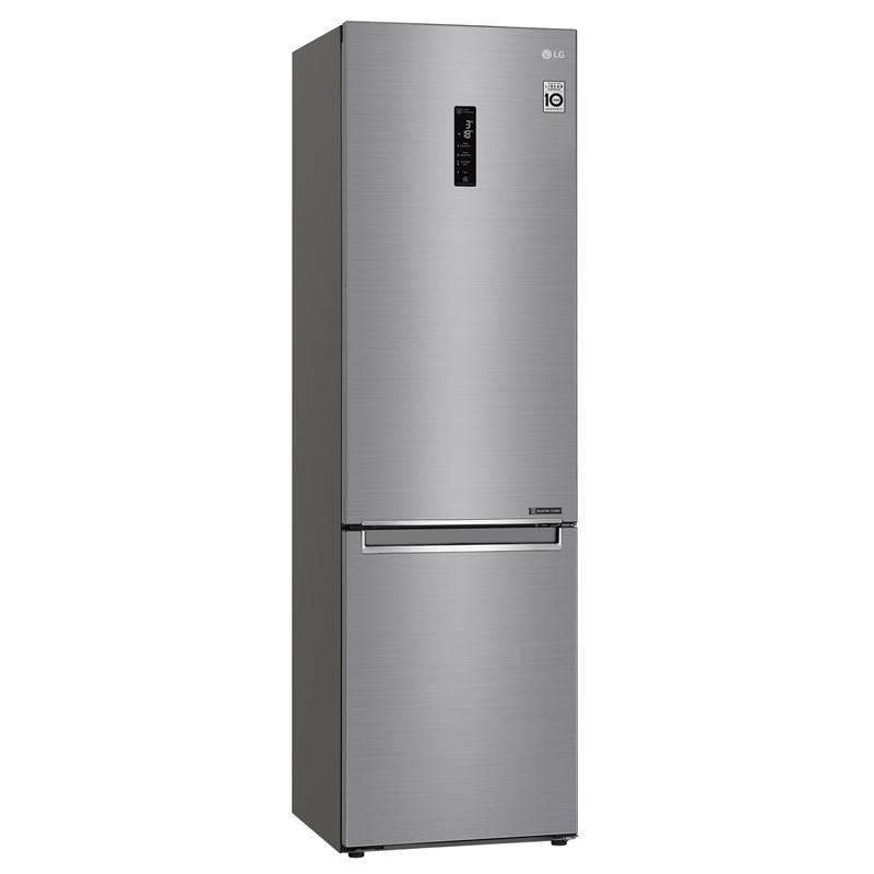 Chladnička s mrazničkou LG GBB72PZDFN + LG 10 let záruka na Lineární kompresor
