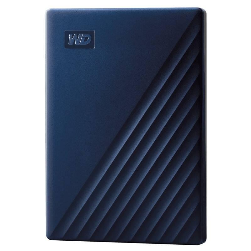 Externý pevný disk Western Digital 2TB pro Mac (WDBA2D0020BBL-WESN) modrý + Doprava zadarmo