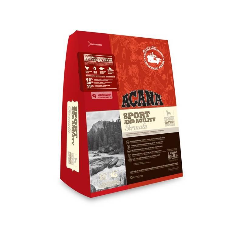 Granule Acana Dog Heritage Sport&Agility 11,4 kg Antiparazitní obojek Scalibor Protectorband pro psy - 48 cm