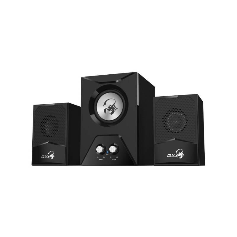 Reproduktory Genius GX Gaming SW-G2.1 500 (31730003401) čierne