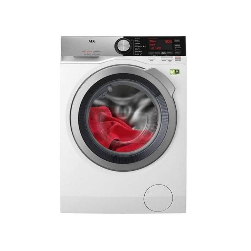 Automatická práčka AEG SoftWater L9FEC49SC biela Čistič oken ETA Aquarelo 0262 90000 (zdarma) + Doprava zadarmo