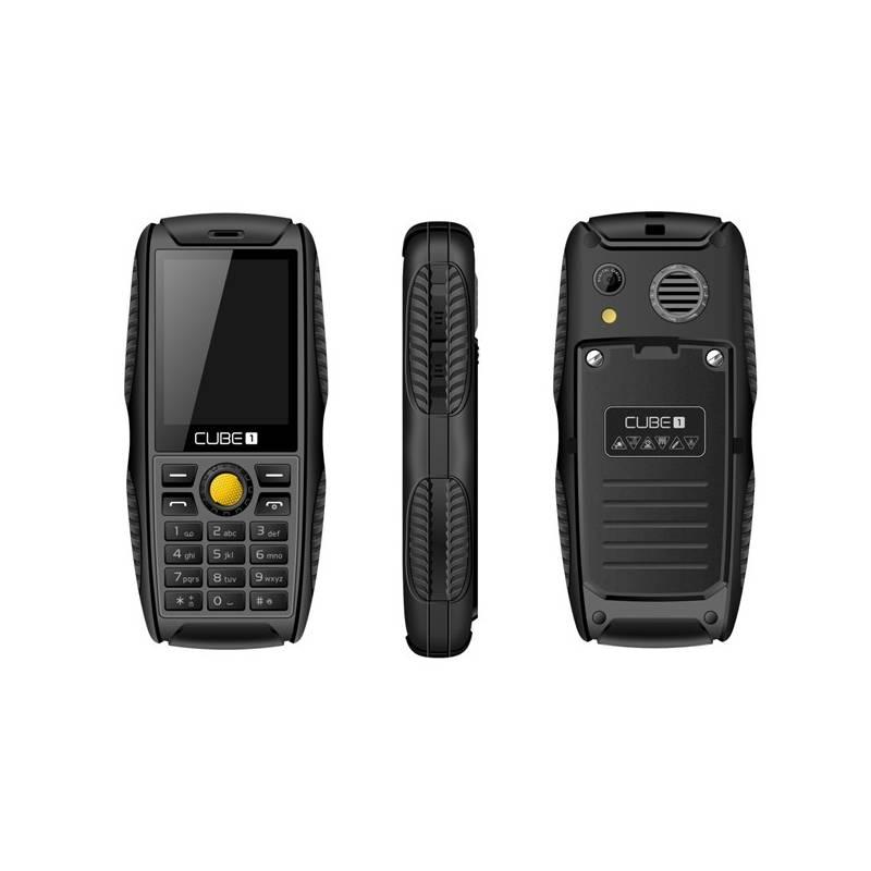 Mobilný telefón CUBE 1 S200 Dual SIM (MTOSCUS200050) čierny Software F-Secure SAFE, 3 zařízení / 6 měsíců (zdarma)