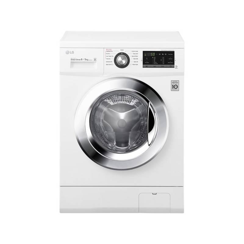 Automatická práčka so sušičkou LG F84G6TDM2N biela + Doprava zadarmo