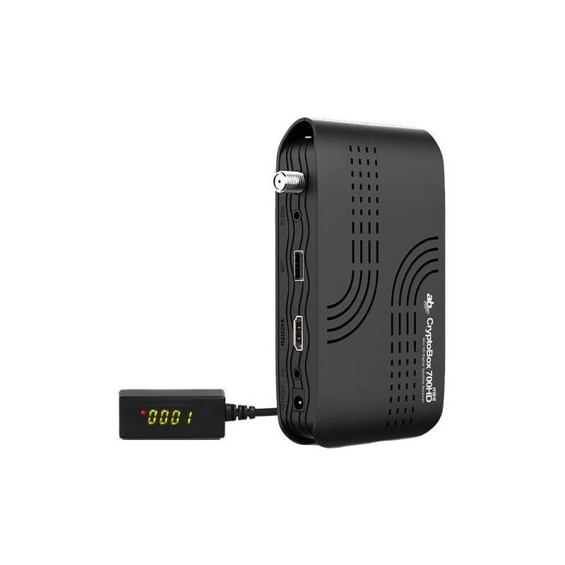 Satelitný prijímač AB Cryptobox AB700HD mini čierny