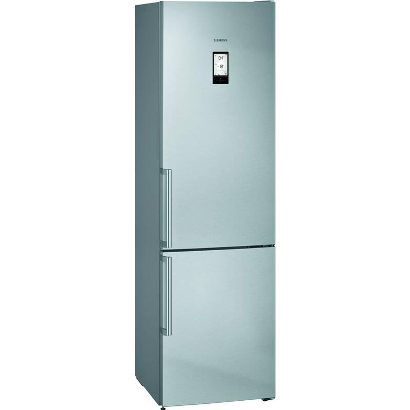 Kombinácia chladničky s mrazničkou Siemens iQ500 KG39NAIDP nerez + Doprava zadarmo