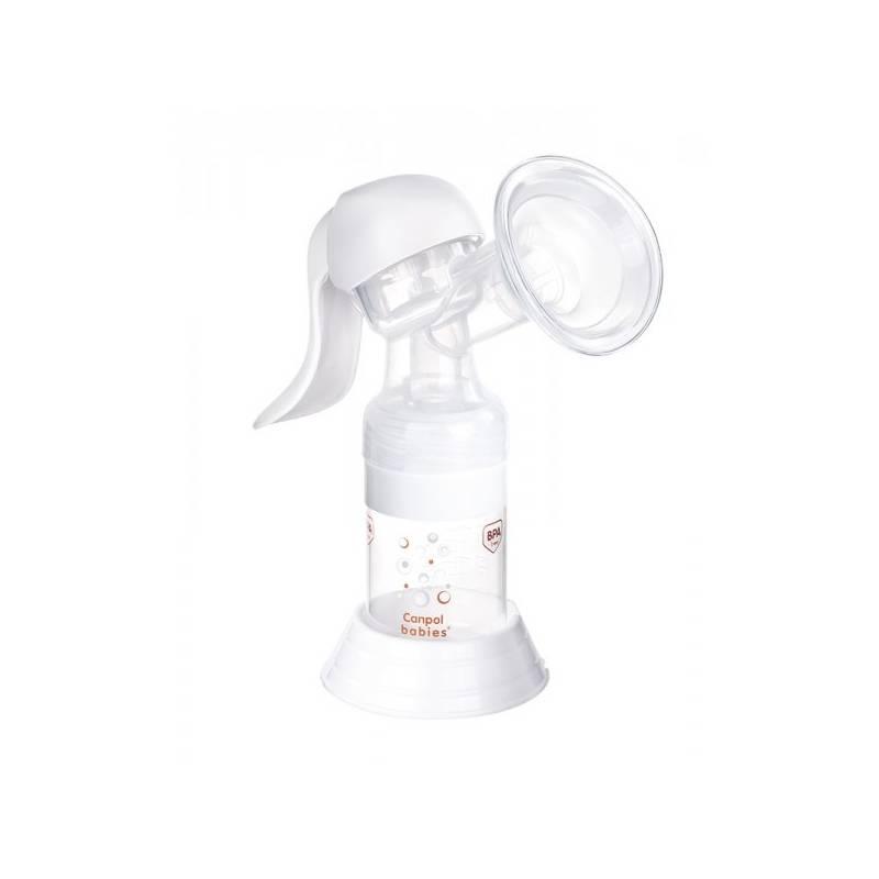 Odsávačka materského mlieka Canpol babies Basic ruční biela