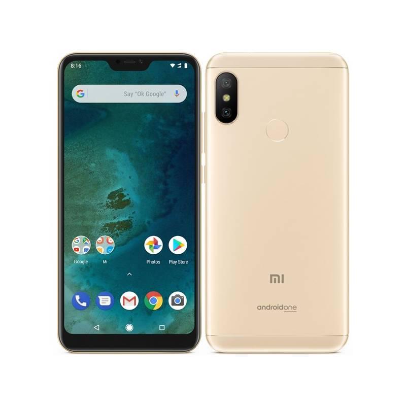 Mobilný telefón Xiaomi Mi A2 Lite 32 GB (19051) zlatý + Doprava zadarmo