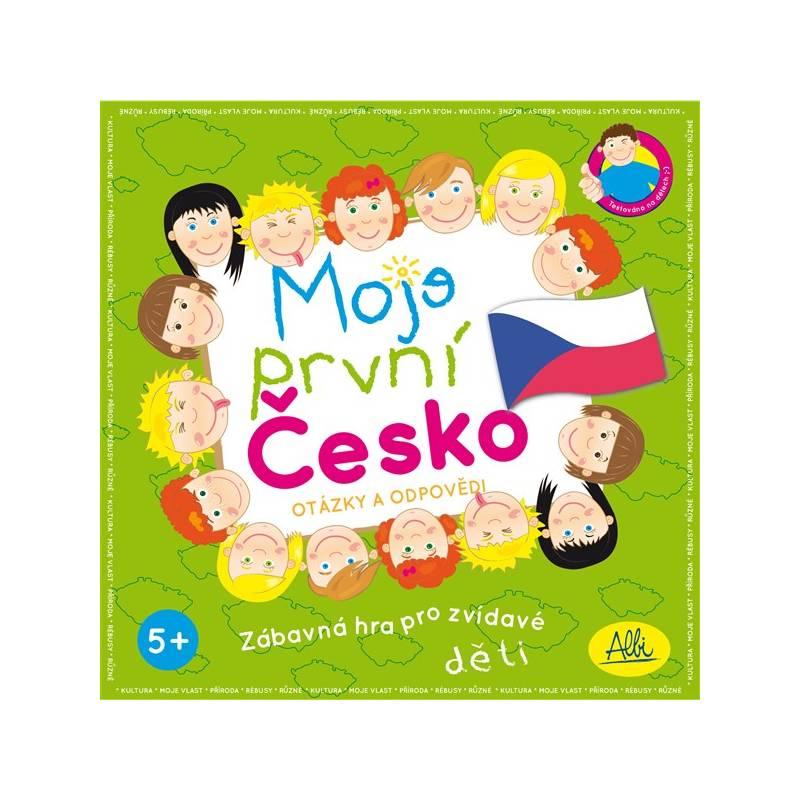 Hra Albi Moje první Česko