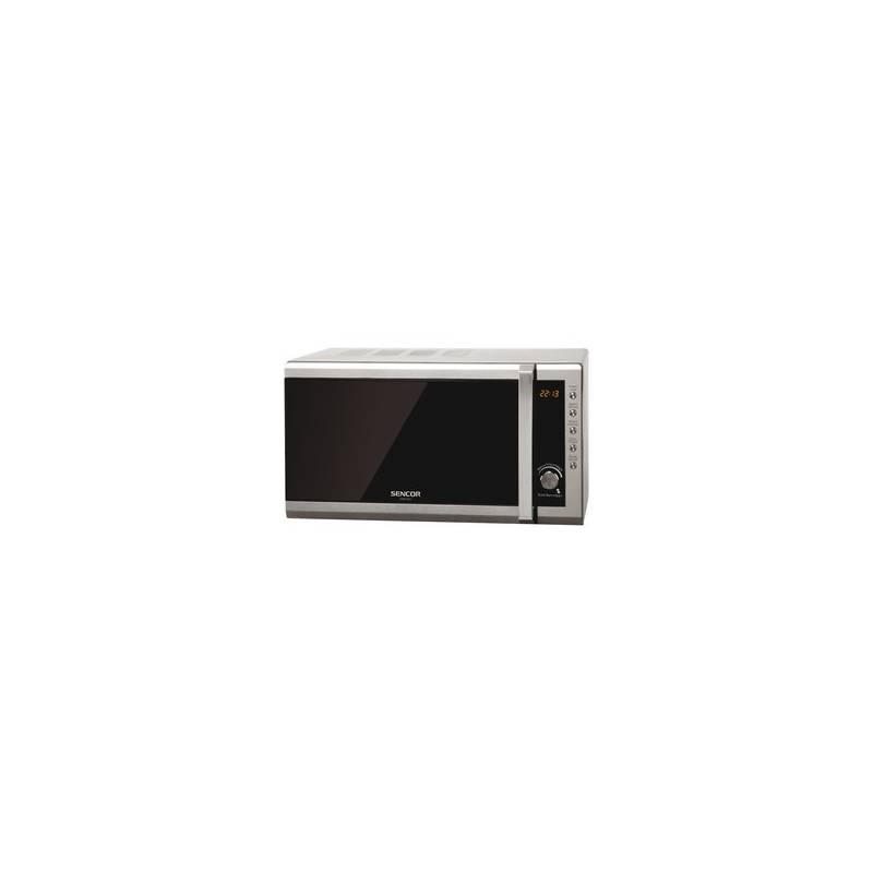 Mikrovlnná rúra Sencor SMW 6001DS strieborná