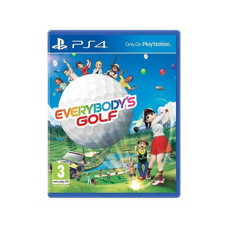 Hra Sony PlayStation 4 Everybody's Golf (PS719859369)