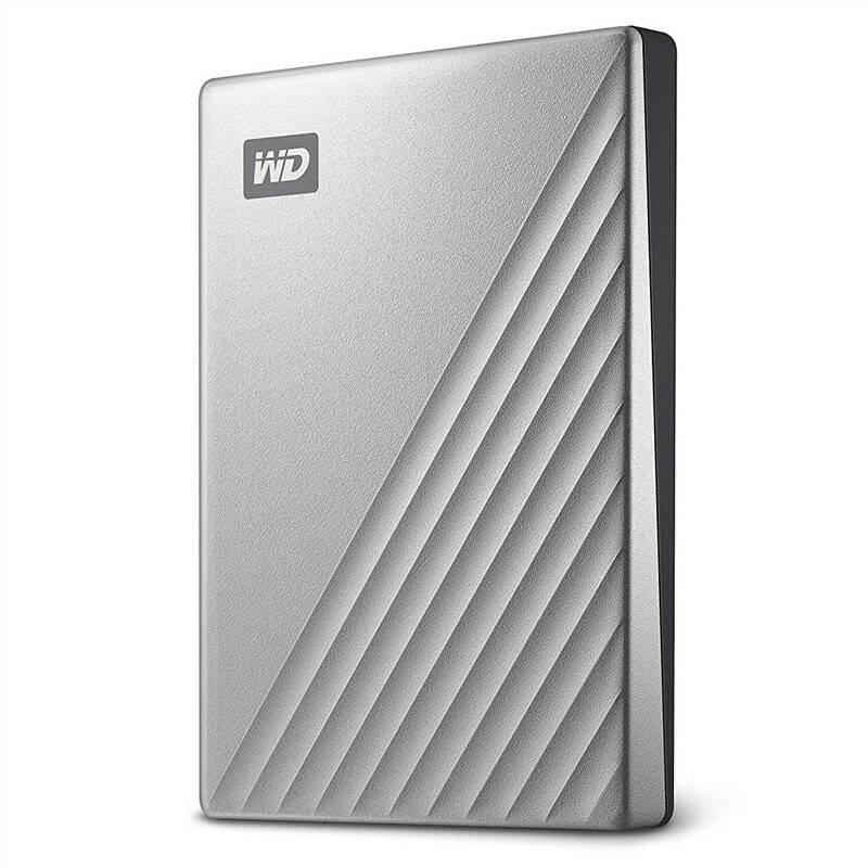 Externý pevný disk Western Digital My Passport Ultra 1TB (WDBC3C0010BSL-WESN) strieborný